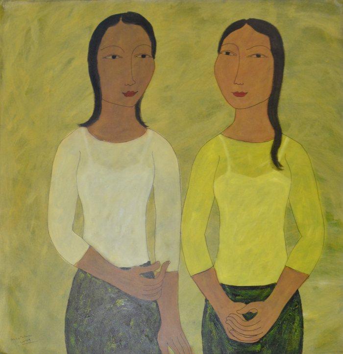 Красные женщины. Min Zaw