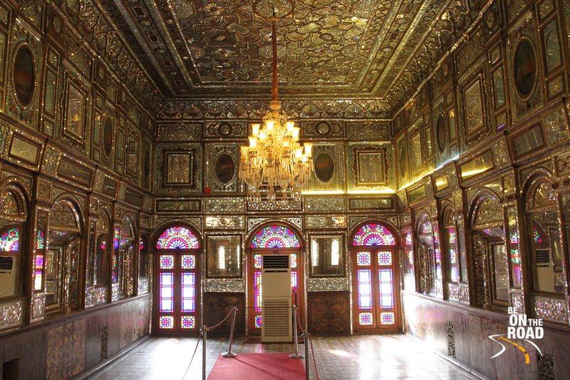 Inside Golistan Palace, Tehran, Iran