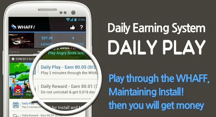 Cara Menghasilkan Uang Dengan Android Whaff Rewards