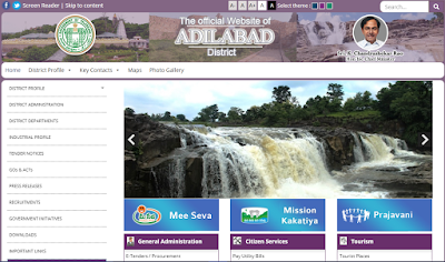 Adilabad District Official Website