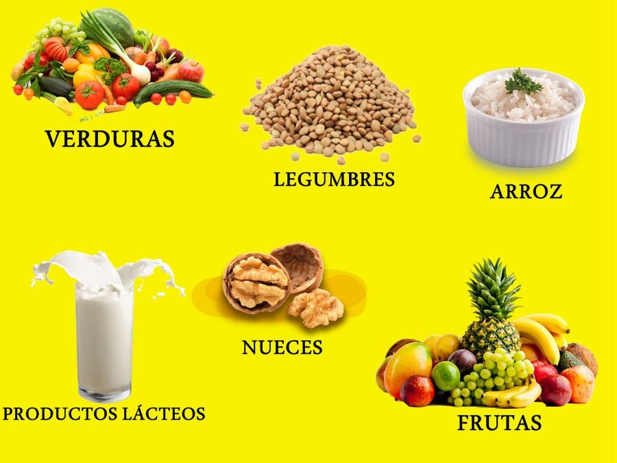 Alimentos para levantar los gluteos