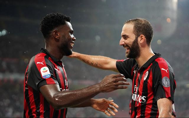 AC Milan's Kessie Urges Higuain To Ignore Chelsea