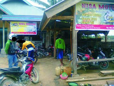 bengkel motor kendari sulawesi milik mas ahmad
