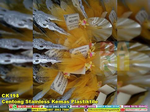 jual Centong Stainless Kemas Plastiktile