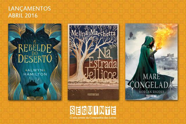 Lançamento de Livros - Abril / Editora Seguinte