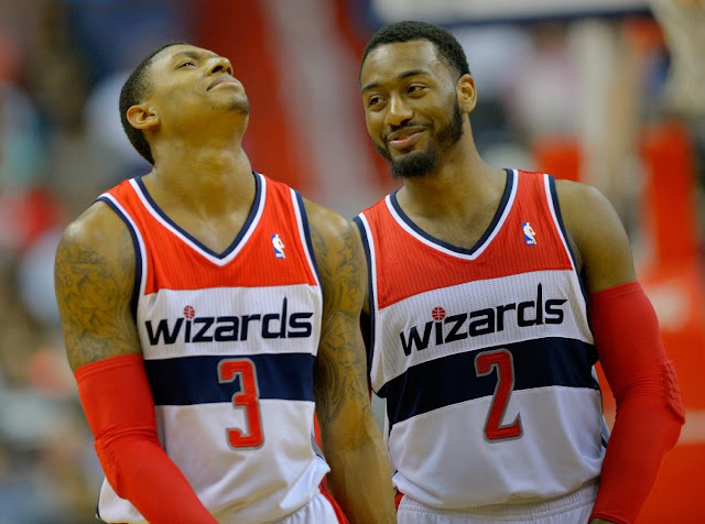 Bradley Beal, Washington Wizards & John Wall, Washington Wizards