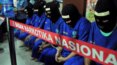 9 Tahanan Ditangkap, Usman Warga Aceh Timur Masih DPO BNN