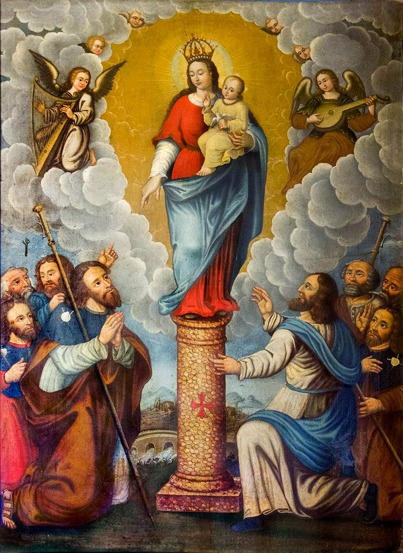 Resultado de imagen de Virgen de Guadalupe, España y Virgen del Pilar