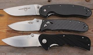 Ontario RAT-1 CF clone, Ganzo F704 CF and Enlan EL-03C