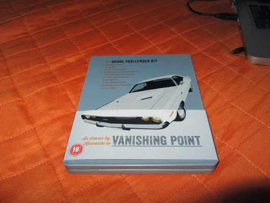 Vanishing Point Limited Edition Steelbook BD UK
