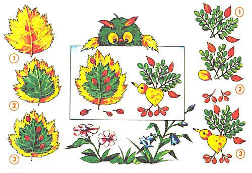 http://prazdnichnymir.ru/ картины из листьев осенних