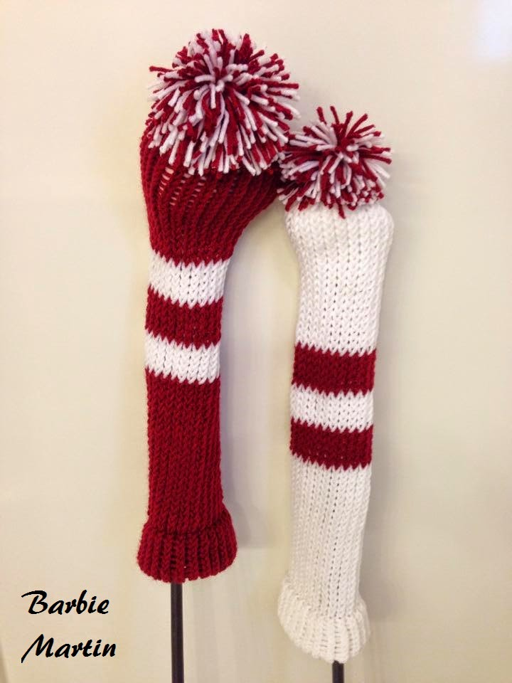 The Knifty Knitter: Golf Club Covers for the Blue Round ...