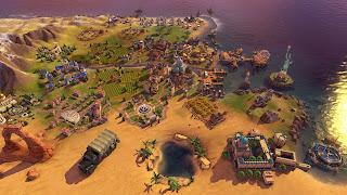 Civilization VI Rise and Fall PS3 Wallpaper