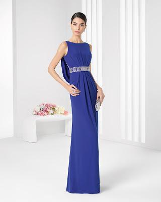 Vestido de Gala con Pedrería