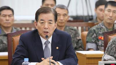 El ministro de Defensa surcoreano, Han Min-koo.
