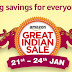 (Live Now) Amazon Great Indian Sale-Products Upto 80% Off (21th-24th Jan)
