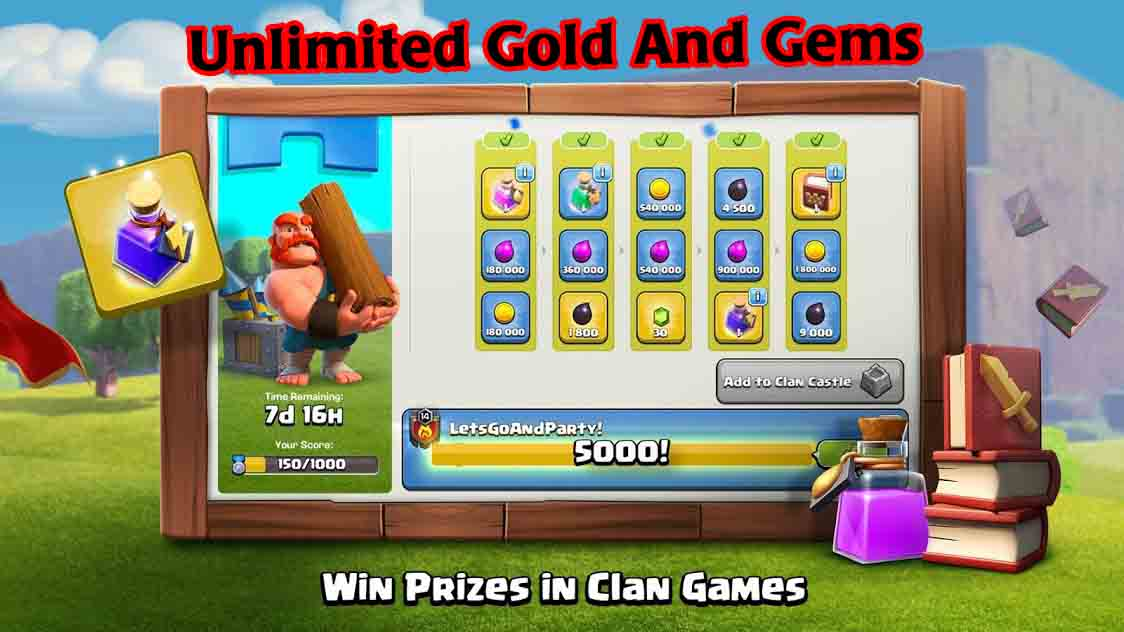 coc unlimited gems 2019