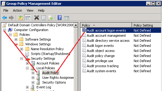 Steps to enable/configure Active Directory Kerberos Logon Audit Event ID 4768