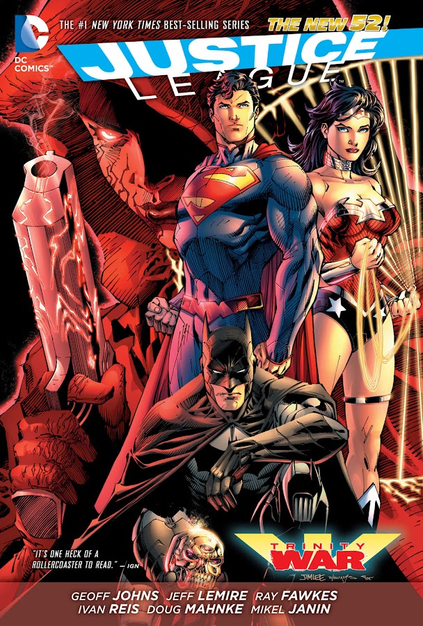 justice league new 52 trinity war