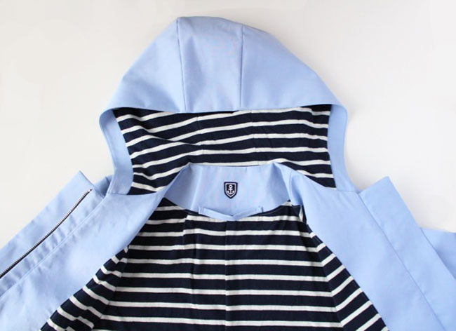Tilly's nautical Cascade anorak