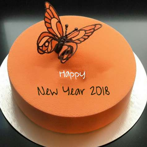 Best*}} Happy New Year Cake Designs with Names and wishes   Happy