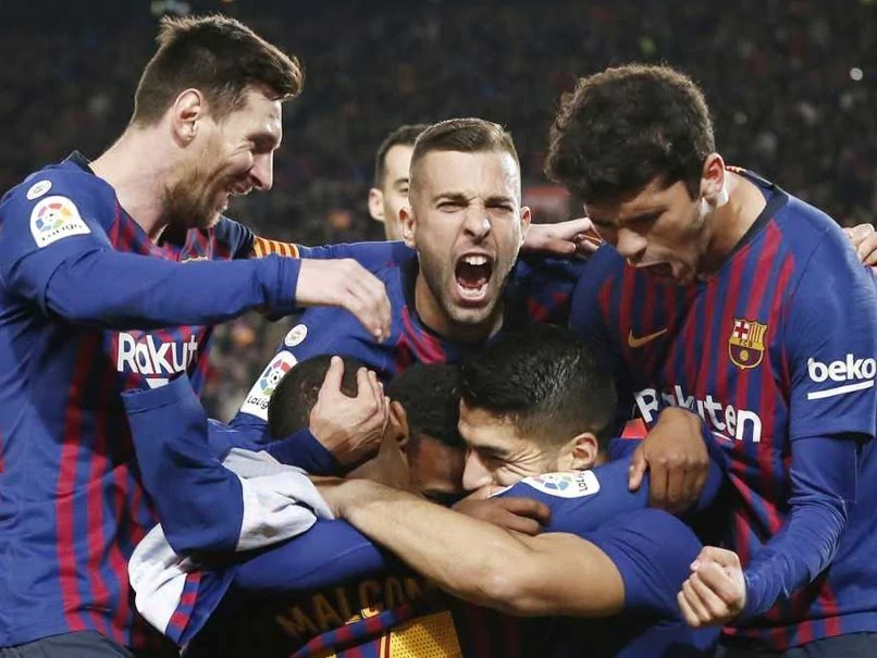 Barcelona cruised past second-placed Atletico Madrid