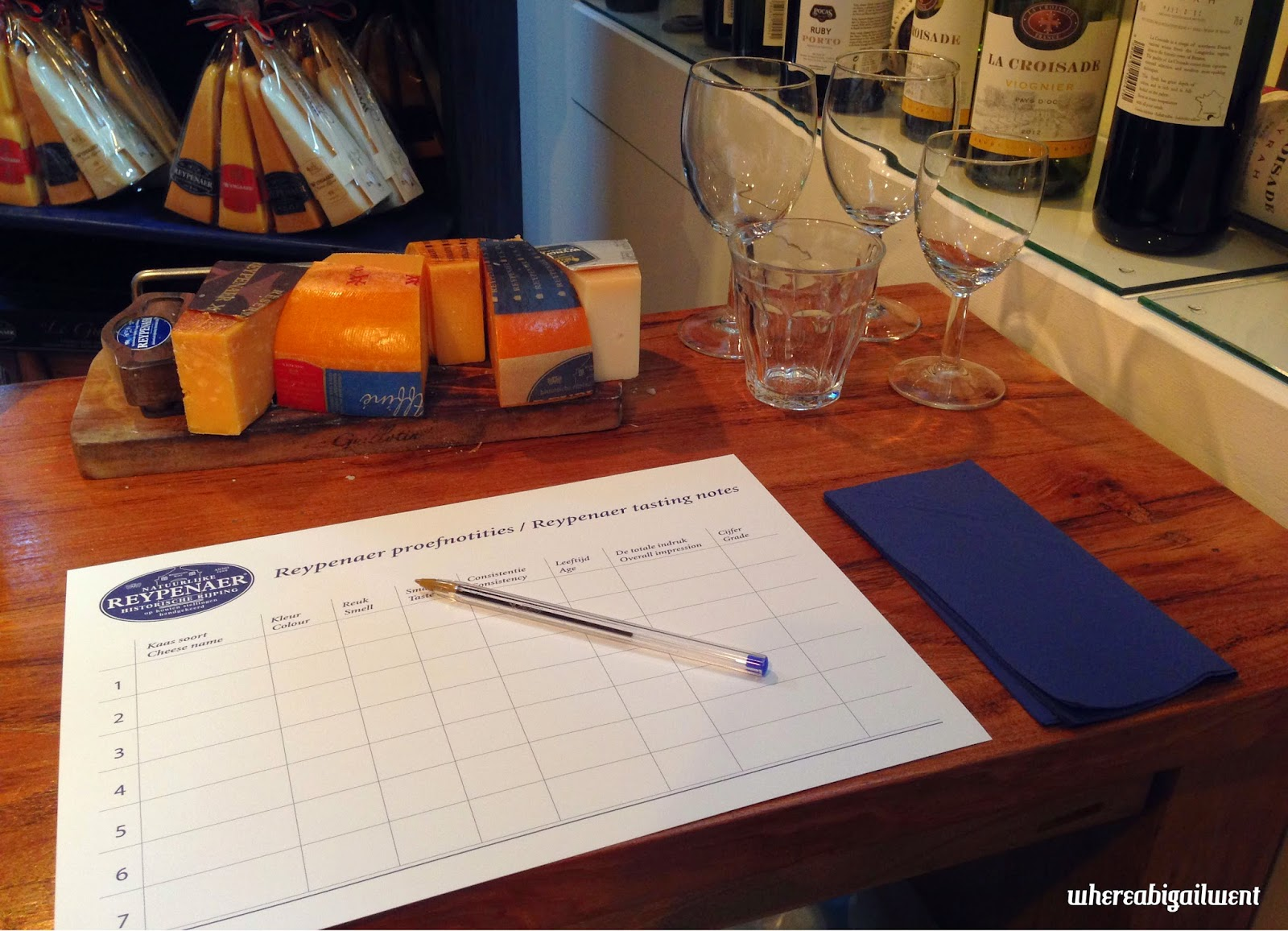 Cheese Tasting At Reypenaer