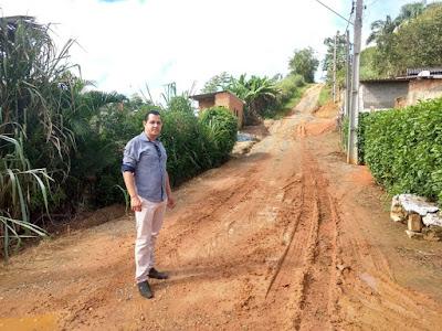 Vereador Vander Lopes afirma que o bairro Serrote está abandonado pela Prefeitura