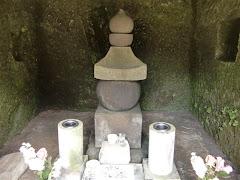 北条政子の五輪塔(壽福寺)