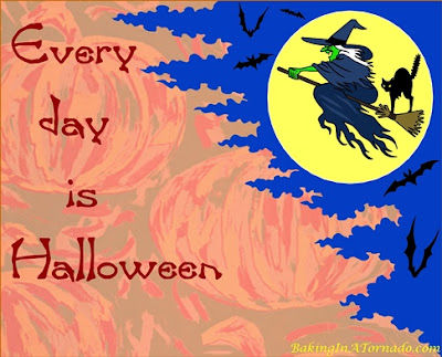 Every Day is Halloween, a humorous look at the corrolation between Halloween and everyday life | Graphic property of www.BakingInATornado.com | #humor #Halloween