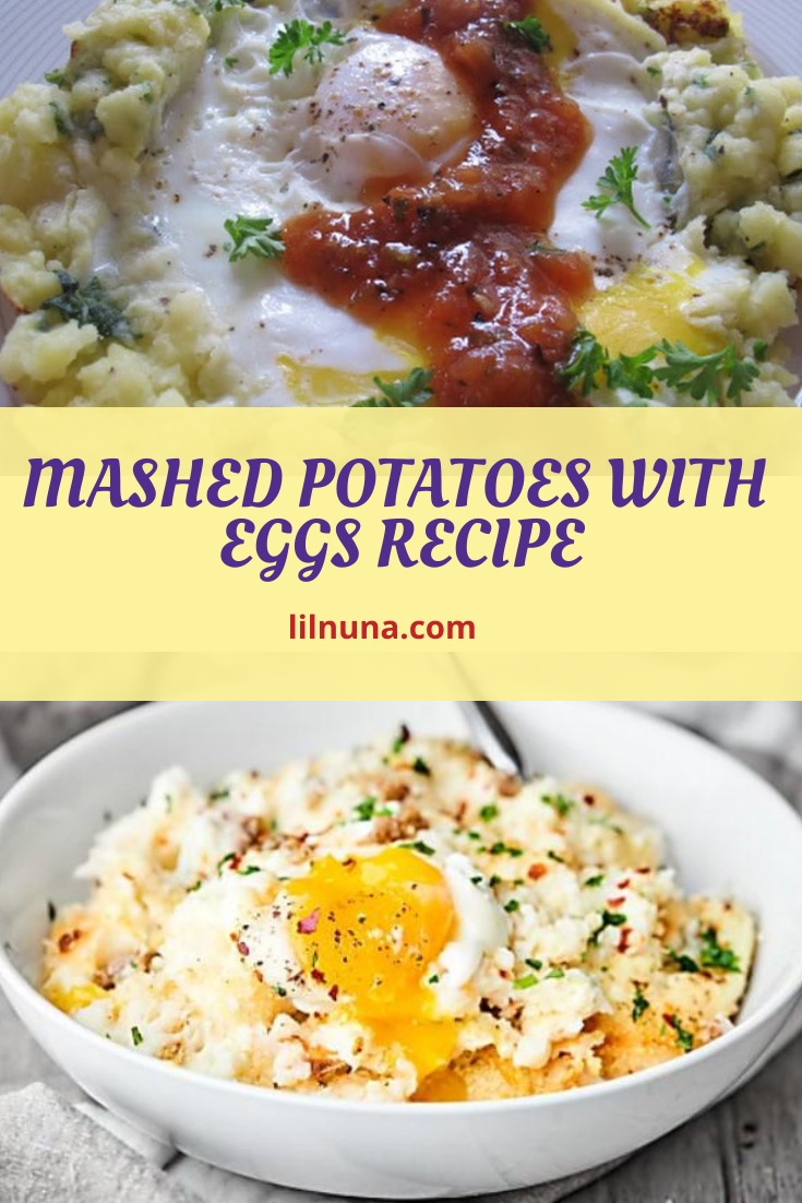 Mashed Potatoes with Eggs Recipe