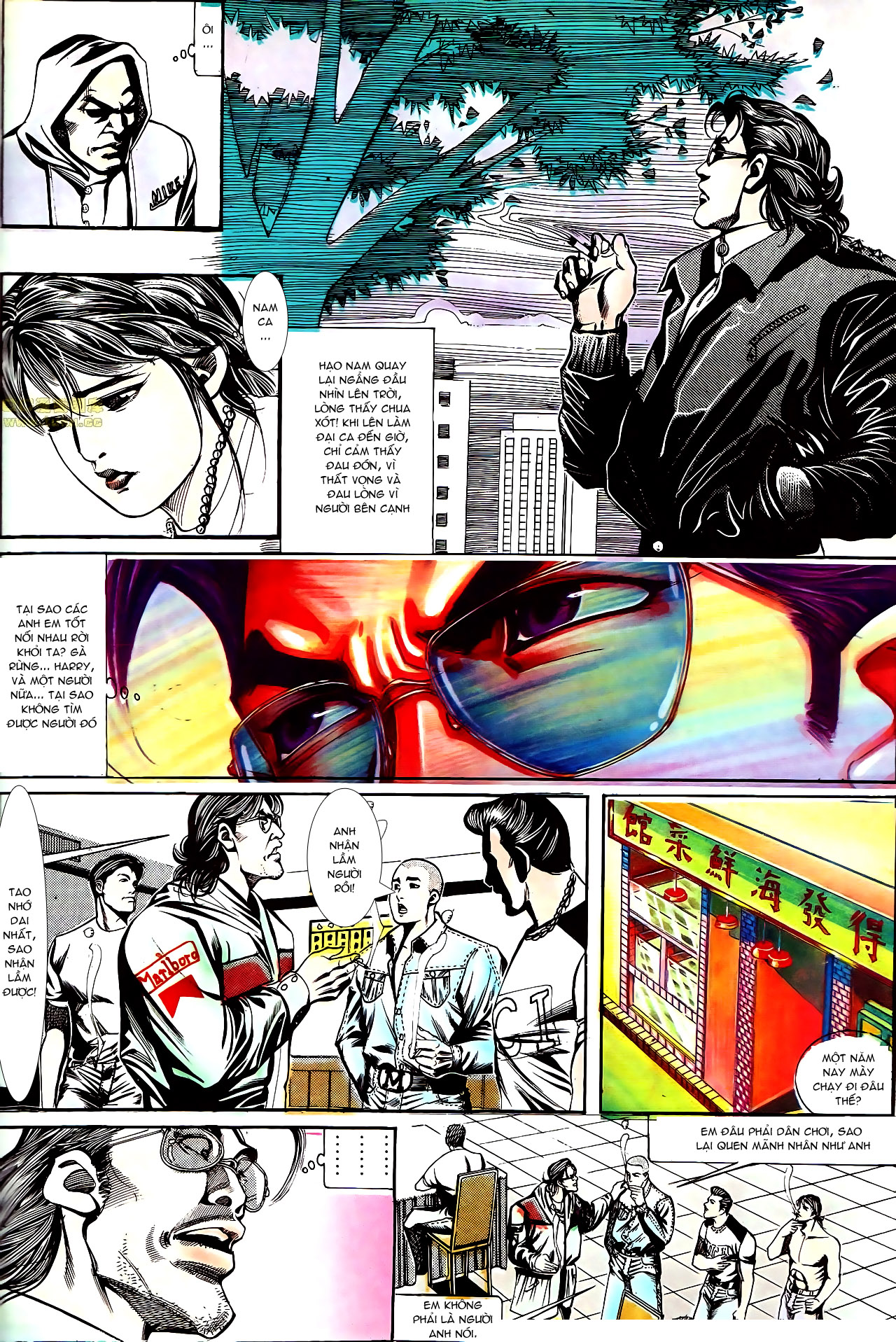 Người Trong Giang Hồ chapter 155: long đầu trang 14
