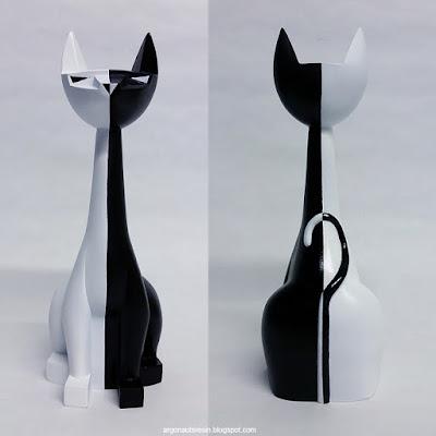 "YinYang Tuttz 8"" Resin Figures by Argonaut Resins"