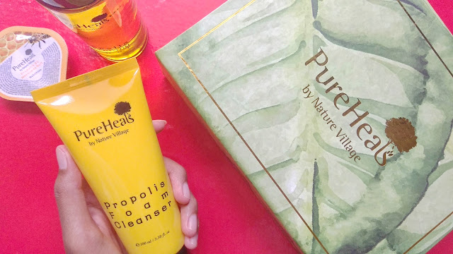 Review Pureheal's  Propolis Foam Cleanser
