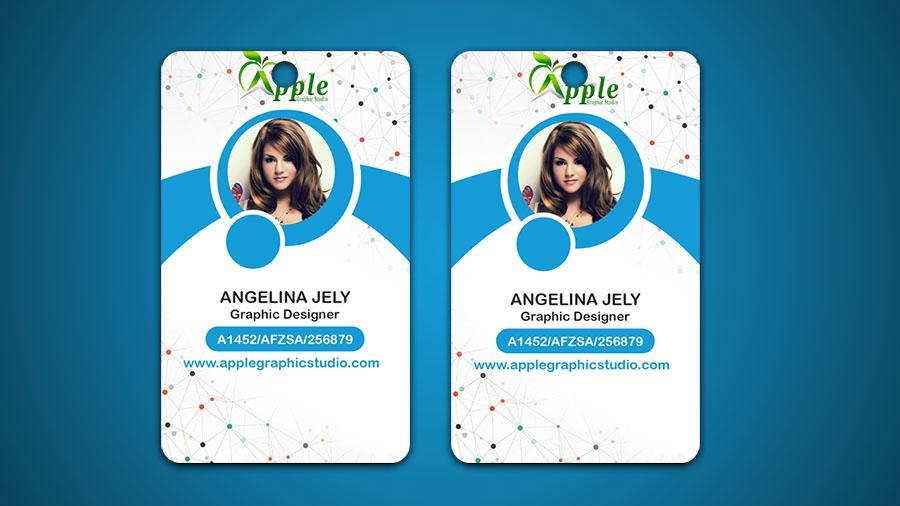 Design ID Cards & ID Badge - Adobe Photoshop Tutorial - Apple ...