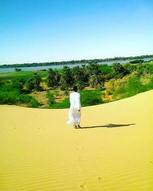 المزارع النيليلة شمال السودان