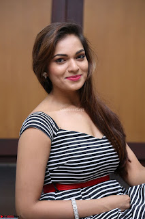 Ashwini in Spicy Short Deep Neck Dress at Pelliki Mundu Prema Katha Trailer Launch Exclusive  05.JPG