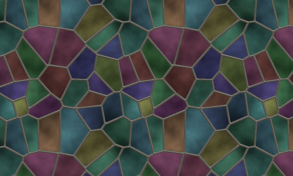 Free Stained Glass Patterns for Photoshop and Elements