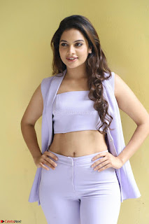 Tanya Hope in Crop top and Trousers Beautiful Pics at her Interview 13 7 2017 ~  Exclusive Celebrities Galleries 015.JPG