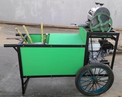 model gerobak es tebu terbaru