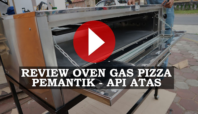 Review Oven Gas Pizza Stainless steel