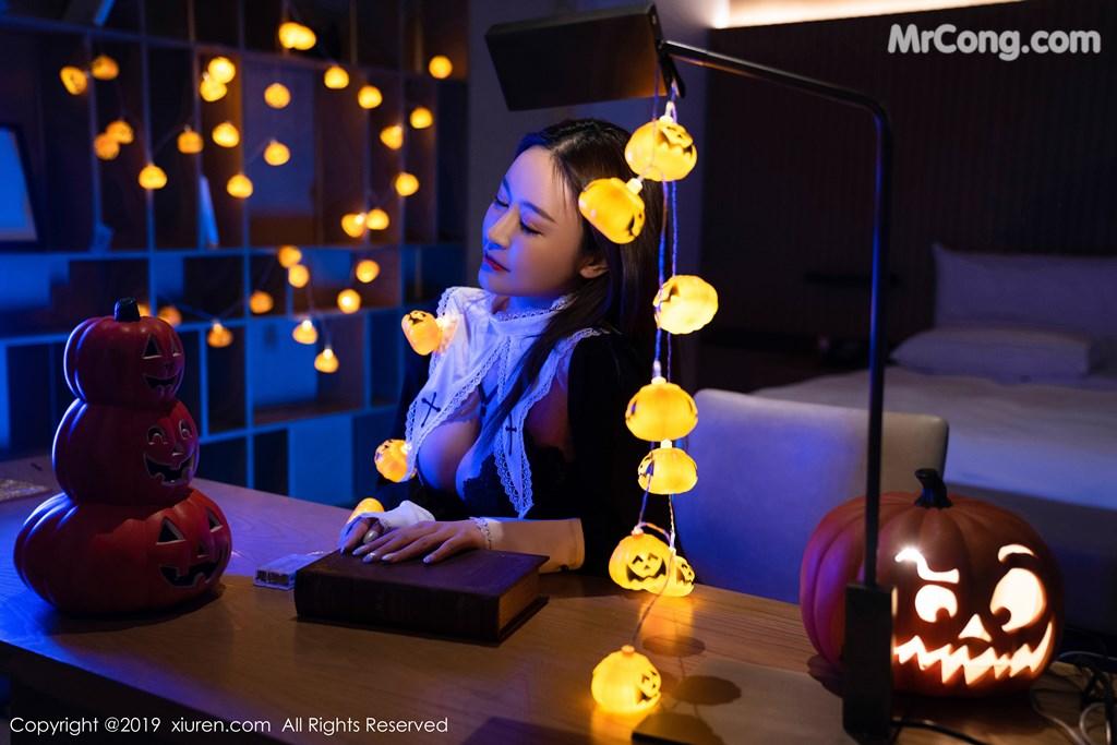 Image XIUREN-No.1802-Zhou-Jing-Kong-MrCong.com-002 in post XIUREN No.1802: Zhou Jing Kong (周井空) (43 ảnh)