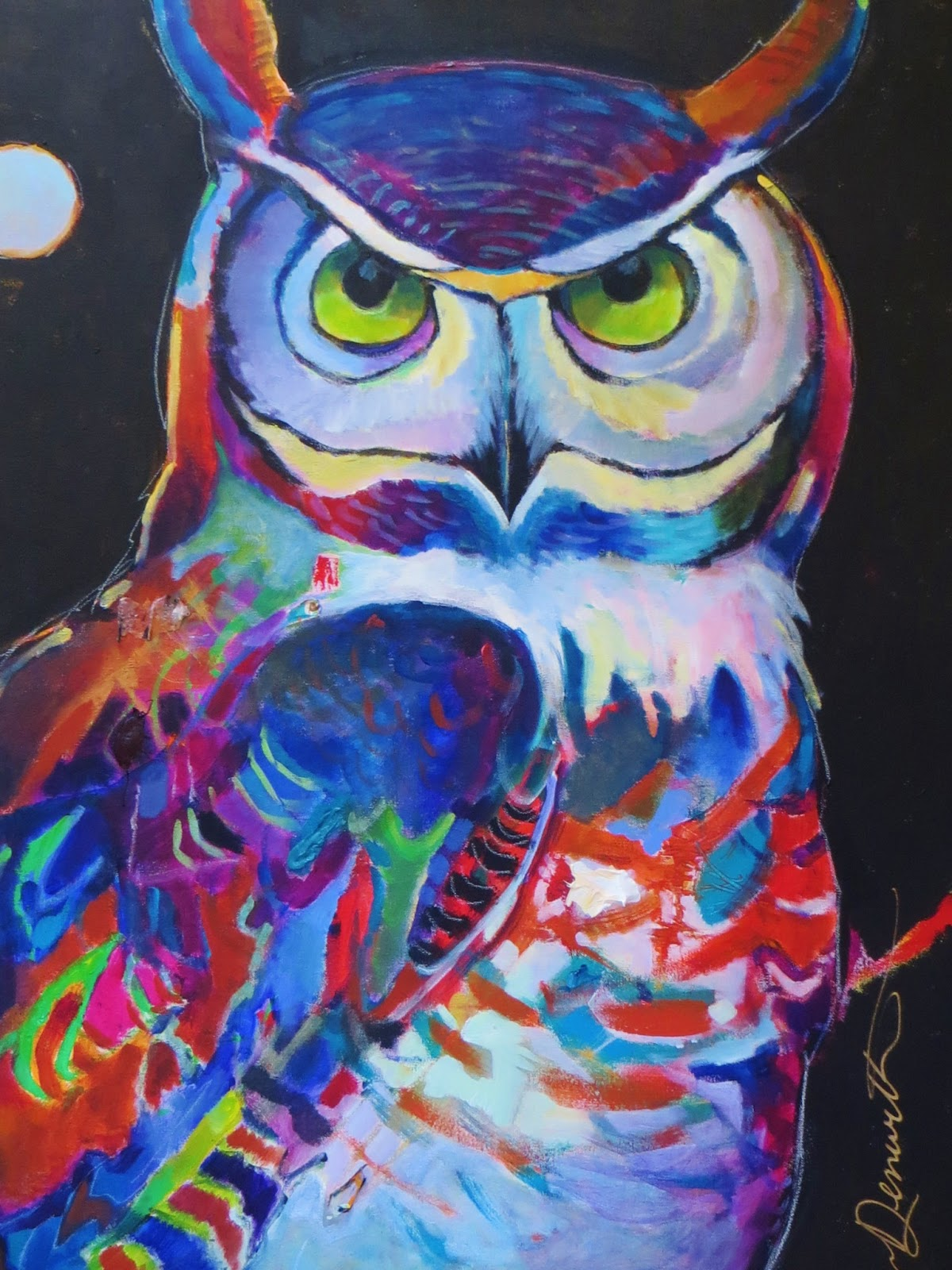 Colorful Pictures Of Owls Colorful Connections A Midsummer 39s Dream Owl