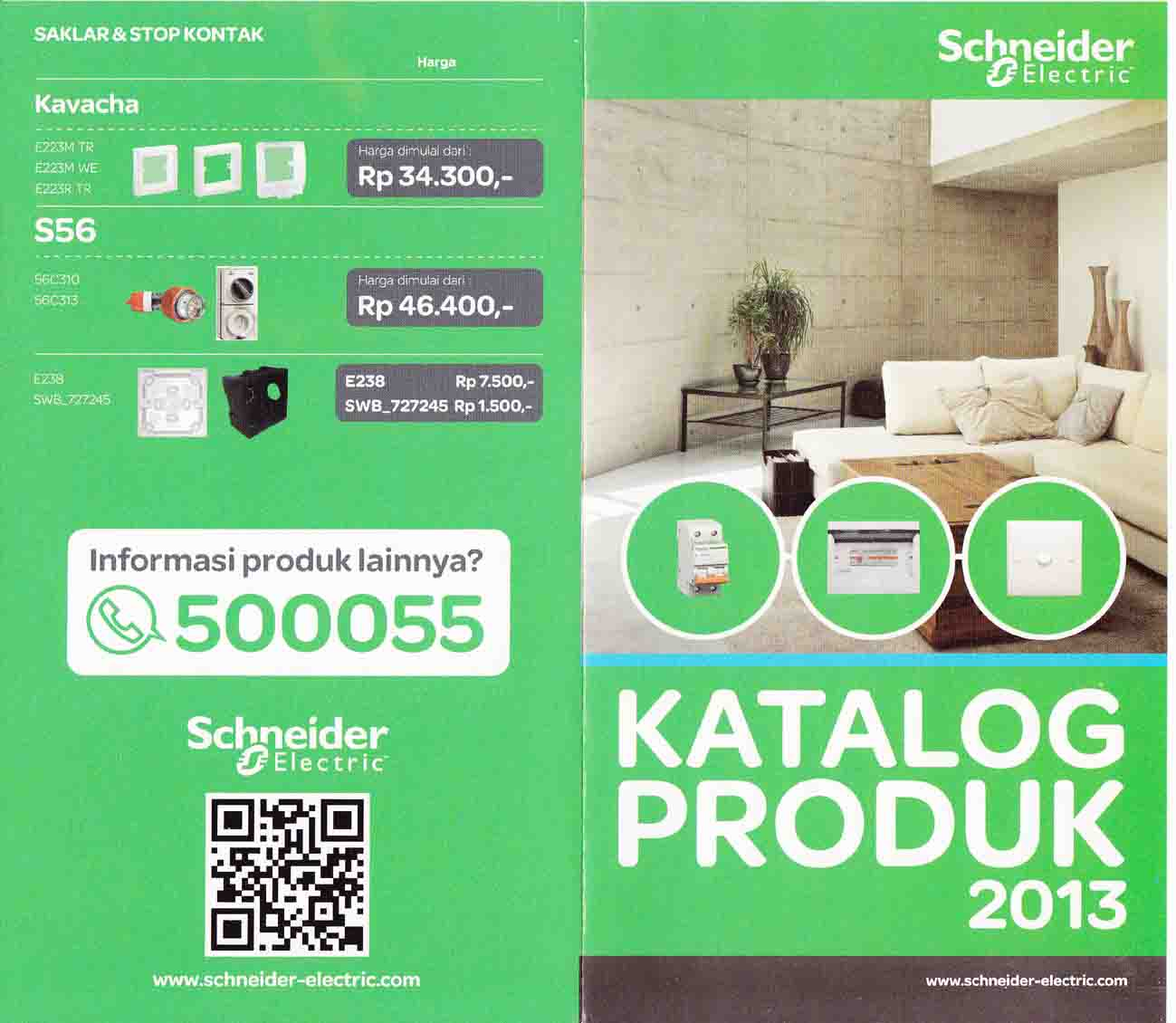 daftar harga schneider electric media bangunan. Black Bedroom Furniture Sets. Home Design Ideas
