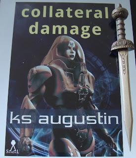 Portada del libro Collateral Damage, de K. S. Augustin
