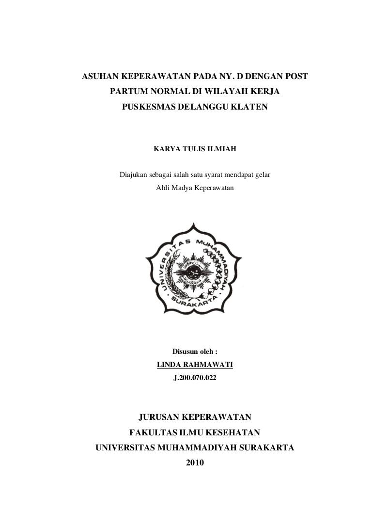 Contoh Makalah Karya Tulis Ilmiah Pdf