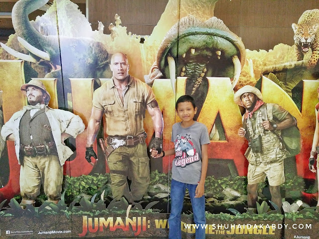 Cuti Sekolah Layan movie Jumanji Welcome To The Jungle