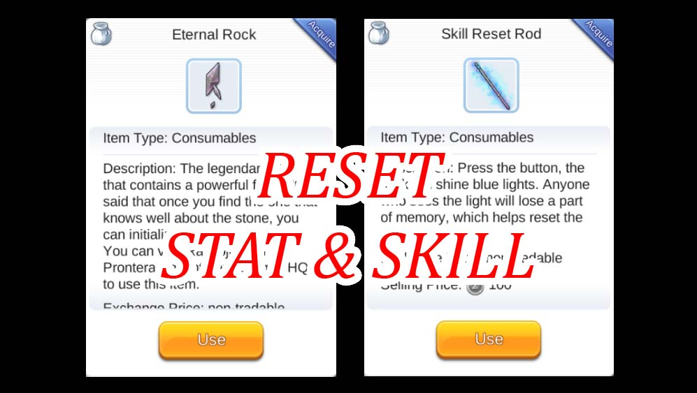 Cara Mendapatkan Skill Reset Rod dan Eternal Rock Gratis dari Quest Ragnarok Mobile