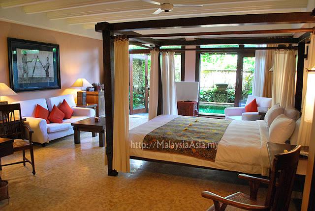 Rooms at Tugu Hotel Canggu