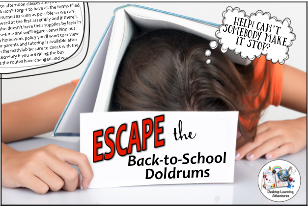 Escapes mix fun with learning!